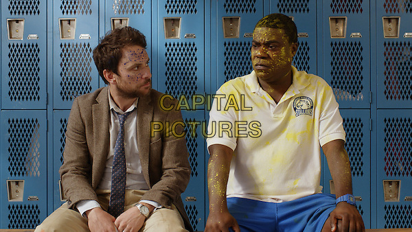 Fist Fight (2017)  <br /> CHARLIE DAY as Andy Campbell and TRACY MORGAN as Coach Crawford<br /> *Filmstill - Editorial Use Only*<br /> CAP/KFS<br /> Image supplied by Capital Pictures