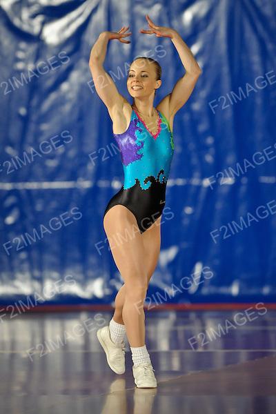 National Sports Aerobics Championships. Rivermeade Sports Centre. Reading.Christina Fossheim