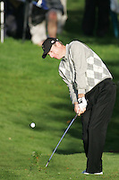 Straffin Co Kildare Ireland. K Club Ruder Cup...American Ryder Cup team member Jim Furyk hitting his second shot on the forth fairway during the opening fourball session of the first day of the 2006 Ryder Cup, at the K Club in Straffan, Co Kildare, in the Republic of Ireland, 22 September 2006..Photo: Fran Caffrey/ Newsfile..