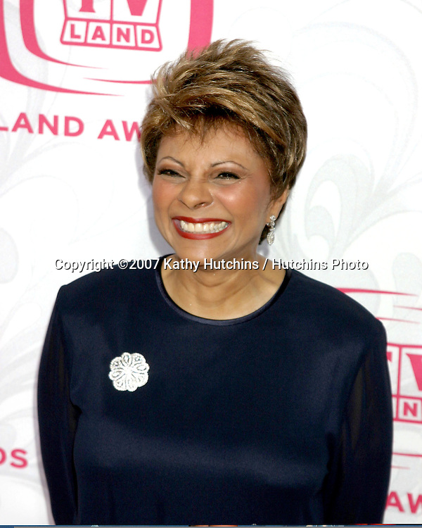 Leslie Uggams.TV Land Awards 2007.Barker Hanger.Santa Monica, CA.April 14, 2007.©2007 Kathy Hutchins / Hutchins Photo....