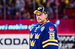 Stockholm 2014-05-03 Ishockey Oddset Hockey Games  Sverige - Finland :  <br /> Sveriges m&aring;lvakt Anders Nilsson <br /> (Foto: Kenta J&ouml;nsson) Nyckelord:  Oddset Hockey Games Sverige Swe Tre Kronor Finland Fin Globen Ericsson Globe Arena portr&auml;tt portrait