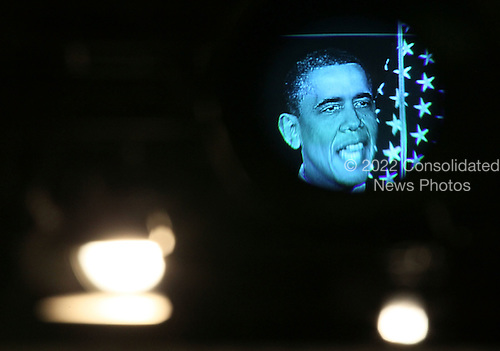 United States President Barack Obama is seen through a viewfinder as he speaks about fiscal policy at George Washington University on April 13, 2011 in Washington, DC. President Obama laid out his plan for deficit and debt reduction. .Credit: Mark Wilson / Pool via CNP