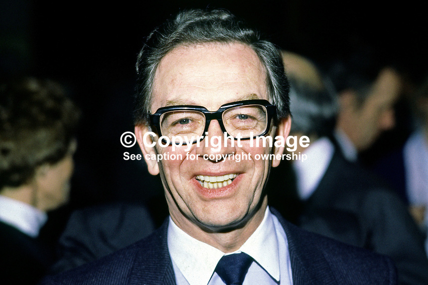 Jim Creagh, senior manager, UTV, Belfast, N Ireland. Ref: 1985010103...Copyright Image from Victor Patterson, 54 Dorchester Park, Belfast, UK, BT9 6RJ..Tel: +44 28 9066 1296.Mob: +44 7802 353836.Voicemail +44 20 8816 7153.Skype: victorpattersonbelfast.Email: victorpatterson@mac.com.Email: victorpatterson@ireland.com (back-up)..IMPORTANT: If you wish to use this image or any other of my images please go to www.victorpatterson.com and click on the Terms & Conditions. Then contact me by email or phone with the reference number(s) of the image(s) concerned.