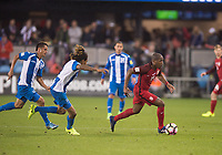 San Jose, Ca - Friday March 24, 2017: Darlington Nagbe during the USA Men's National Team defeat of Honduras 6-0 during their 2018 FIFA World Cup Qualifying Hexagonal match at Avaya Stadium.