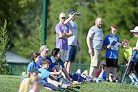 Kansas City, MO - Saturday July 16, 2016: Fans prior to a regular season National Women's Soccer League (NWSL) match between FC Kansas City and the Washington Spirit at Swope Soccer Village.