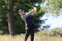 Eddie Pepperell (ENG) on the 1st during Round 4 of the Aberdeen Standard Investments Scottish Open 2019 at The Renaissance Club, North Berwick, Scotland on Sunday 14th July 2019.<br /> Picture:  Thos Caffrey / Golffile<br /> <br /> All photos usage must carry mandatory copyright credit (© Golffile | Thos Caffrey)