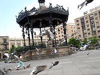 Plaza de Armas in Guadalajara, Mexico.