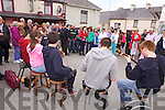 Music on the streets of Brosna for the annual Con Curtin music festival.