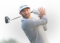 160212 Dustin Johnson during Friday's Second Round at The AT&T National Pro Am at The Monterey Peninsula Country Club in Carmel, California. (photo credit : kenneth e. dennis/kendennisphoto.com)