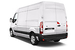 Car pictures of rear three quarter view of a 2015 Renault MASTER GRAND CONFORT 4 Door Cargo Van Angular Rear