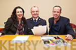 Pictured at the Launch of Local Hero in association with Radio Kerry and Kerry's Eye were from left: Treasa Murphy, Radio Kerry, Chief Supt. Pat O'Sullivan, Aidan O'Connor, Kerry's Eye