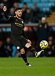 David Silva of Manchester City during the Premier League match at Villa Park, Birmingham. Picture date: 12th January 2020. Picture credit should read: Darren Staples/Sportimage