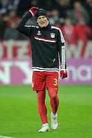 FUSSBALL   CHAMPIONS LEAGUE   SAISON 2011/2012  Achtelfinale Rueckspiel 13.03.2012 FC Bayern Muenchen - FC Basel  Bastian Schweinsteiger (FC Bayern Muenchen) beim Aufwaermen