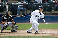 June 8, 2008: Tacoma Rainiers' Tug Hulett at-bat during a Pacific Coast League game against the Fresno Grizzlies at Cheney Stadium in Tacoma, Washington.