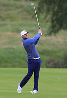 Lucas Bjerregaard (DEN) on the 1st fairway during Round 2 of the 100th Open de France, played at Le Golf National, Guyancourt, Paris, France. 01/07/2016. <br /> Picture: Thos Caffrey | Golffile<br /> <br /> All photos usage must carry mandatory copyright credit   (&copy; Golffile | Thos Caffrey)