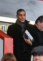 Chris Hughton (former Brighton & Hove Albion manager) attending the Bournemouth v Wolverhampton game<br /> <br /> Photographer David Horton/CameraSport<br /> <br /> The Premier League - Bournemouth v Wolverhampton Wanderers - Saturday 23rd November 2019 - Vitality Stadium - Bournemouth<br /> <br /> World Copyright © 2019 CameraSport. All rights reserved. 43 Linden Ave. Countesthorpe. Leicester. England. LE8 5PG - Tel: +44 (0) 116 277 4147 - admin@camerasport.com - www.camerasport.com