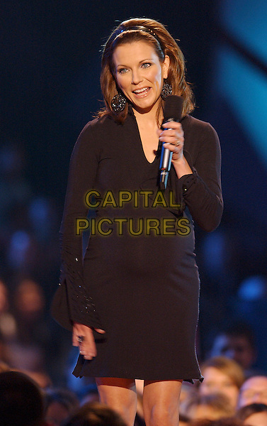 MARTINA McBRIDE.2005 CMT Music Awards held at the Gaylord Entertainment Center, Nashville, Tennessee, USA, .11 April 2005..half length on stage.Ref: ADM.www.capitalpictures.com.sales@capitalpictures.com.©Laura Farr/AdMedia/Capital Pictures.