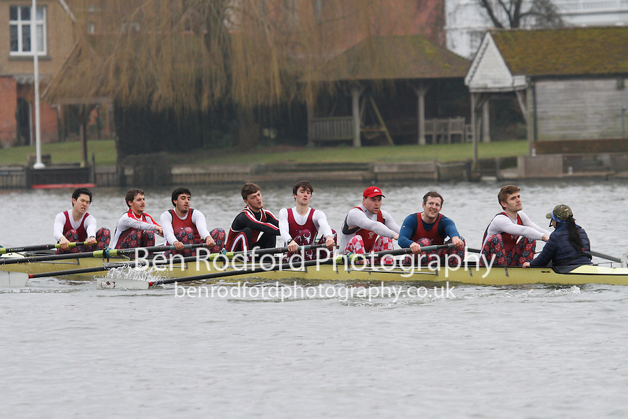Crew: 26 - Hertford Coll  - IM3.8+ <br /> <br /> Henley Fours &amp; Eights Head 2017<br /> <br /> To purchase this photo, or to see pricing information for Prints and Downloads, click the blue 'Add to Cart' button at the top-right of the page.