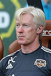 20 June 2015: Houston assistant coach Sandy Stewart. The Portland Timbers FC hosted the Houston Dynamo at Providence Park in Portland, Oregon in a Major League Soccer 2015 regular season match. Portland won the game 2-0.