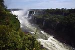 Cataratas do Iguaçu no Parque Nacional do Iguaçu. Parana. Brasil. 2017. Foto de Thaïs Falcão.