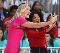 October 11, 2018  Karlie Kloss at Today Show Michelle Obama announces the Obama Foundation's Global Girls Alliance to Support Adolescent Girls Education Around the World on International Day of the Girl   at Rockefeller Center Plaza in New York October 11, 2018 Credit:RW/MediaPunch