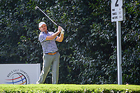 Richard Sterne (RSA) watches his tee shot on 2 during round 1 of the World Golf Championships, Mexico, Club De Golf Chapultepec, Mexico City, Mexico. 3/2/2017.<br /> Picture: Golffile | Ken Murray<br /> <br /> <br /> All photo usage must carry mandatory copyright credit (&copy; Golffile | Ken Murray)