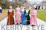 Killarney Active retirement members Betty Twomey, Maura McCarthy, Maire O'Sullivan, May Ryan, Eileen O'Brien strolling on the broadwalk at the opening of Killarney House and gardens on Sunday