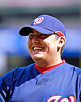 19 May 2007: Washington Nationals pitcher Chad Cordero jokes with teammates prior to facing the Baltimore Orioles at RFK Stadium in Washington, DC.  The Orioles defeated the Nationals 3-2 in the second game of the 3-game interleague series...Mandatory Photo Credit: Ed Wolfstein Photo