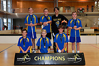 Floorball &ndash; CSW Finals at ASB Sports Centre, Wellington, New Zealand on Thursday 4 April 2019. <br /> Photo by Masanori Udagawa. <br /> www.photowellington.photoshelter.com