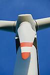 GERMANY Brunsbuettel, Repower 5 MW wind turbine  / DEUTSCHLAND, Windkraftanlage Repower 5M mit 5 MW Leistung