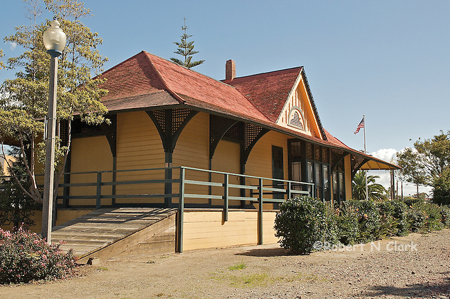 Old Train Station in Carlsbad, CA