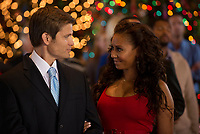 The Twelve Trees of Christmas (2013)<br /> Robin Dunne &amp; Melanie Brown  <br /> *Filmstill - Editorial Use Only*<br /> CAP/KFS<br /> Image supplied by Capital Pictures