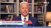 Apr 13, 2020 (USA): Joe Biden Addresses The Urgent Need For A Full COVID-19 Economic Response