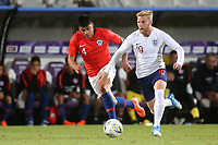 Josh Sims of Southampton and England in action during Chile Under-21 vs England Under-20, Tournoi Maurice Revello Football at Stade Parsemain on 7th June 2019