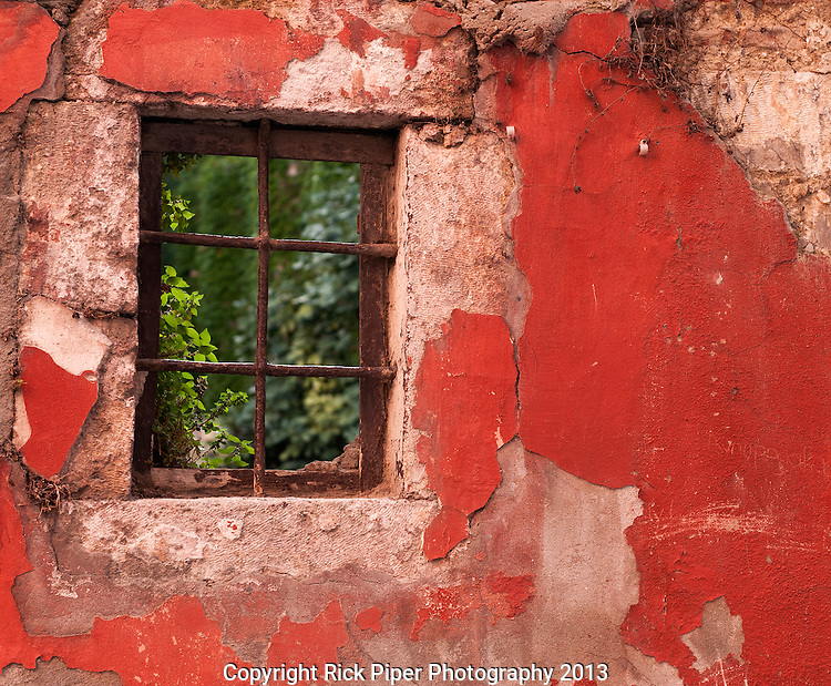 Red Wall - Beyoglu, Istanbul, Turkey