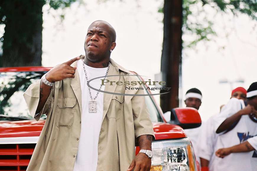 "Baby aka Birdman Co CEO of Cash Money Records on the ""Big Tymers ""Oh Yeah"" video shoot in New Orleans, Louisiana.  Photo credit: Elgin Edmonds / Presswire News"