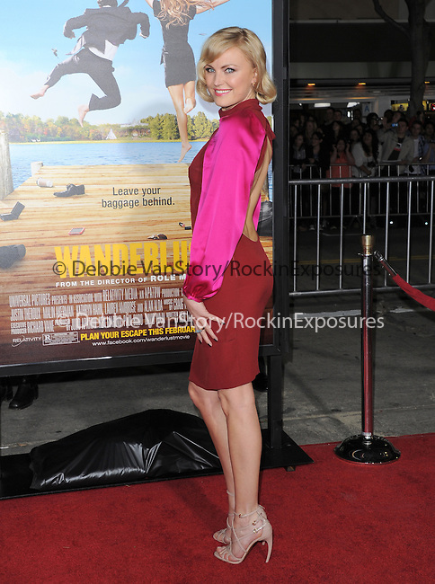 Malin Akerman at The Universal Pictures World Premiere of Wanderlust held at The Mann Village Theatre in Westwood, California on February 16,2012                                                                               © 2012 Hollywood Press Agency
