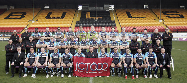 PICTURE BY VAUGHN RIDLEY/SWPIX.COM - Rugby League - Bradford Bulls 2009 Media Day - Odsal, Bradford, England - 27/01/09...Copyright - Simon Wilkinson - 07811267706...Bradford Bulls 2009 Team Photo.