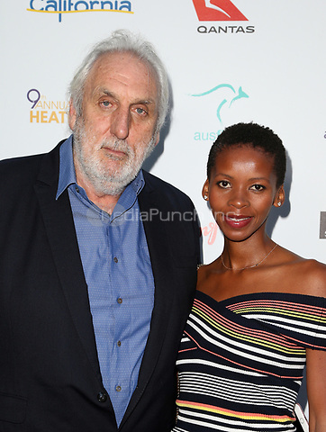 WEST HOLLYWOOD, CA June 01- Phillip Noyce, Vuyo Dyasi, at The 9th Annual Australians In Film Heath Ledger Scholarship Dinner at Sunset Marquis Hotel, California on June 01, 2017. Credit: Faye Sadou/MediaPunch