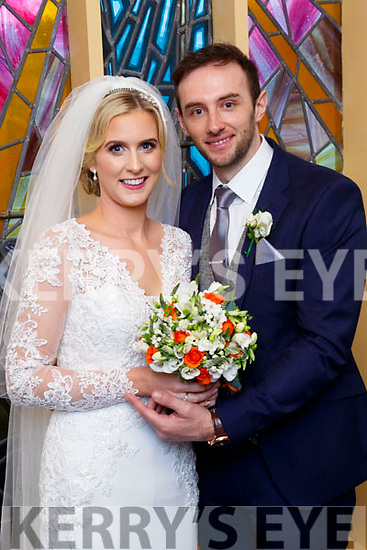 Maura Reidy, daughter of Jer&Shelia, Ballyheigue and Johnny Cashell, son of John&Breda, Kilflynn who married last Friday, october 20th in St Mary's church, Ballyheigue with Fr Denis O'Mahony officiating. Bestman was Damian Cashell, groomsmen were Tommy Cashell&Mark O'Flaherty. 1st bridesmaid was Elaine Lucid, others were Marian Costello&Michelle Gaynor. Flower girls were Aria&Seoda Collins. Pageboys were Conor&Brian Reidy, Fionn Cashell&Jack Collins.   The reception was in the Skellig hotel, dingle and the couple will reside in kilflynn.