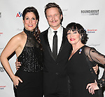 Stephanie J. Block, Will Chase & Chita Rivera attending the Broadway Opening Night Performance after party for 'The Mystery of Edwin Drood' at Studio 54 in New York City on 11/13/2012