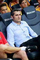 FC Barcelona's coach Ernesto Valverde during Joan Gamper Trophy. August 7,2017. (ALTERPHOTOS/Acero) /NortePhoto.com