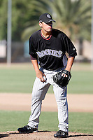 Ethan Hollingsworth - Colorado Rockies, 2009 Instructional League.Photo by:  Bill Mitchell/Four Seam Images..
