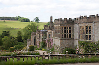 View of Haddon Hall from the Upper Garden