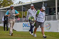 Louis Oosthuizen (RSA) and Marc Leishman (AUS) make their way down 1 during day 4 of the WGC Dell Match Play, at the Austin Country Club, Austin, Texas, USA. 3/30/2019.<br /> Picture: Golffile | Ken Murray<br /> <br /> <br /> All photo usage must carry mandatory copyright credit (© Golffile | Ken Murray)