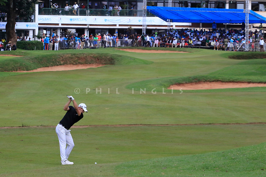 Lorenzo Gagli (ITA) during the final round of the Barclays Kenya Open played at Muthaiga Golf Club, Nairobi, Kenya 22nd - 25th March 2018 (Picture Credit / Phil Inglis) 22/03/2018<br /> <br /> <br /> All photo usage must carry mandatory copyright credit (&copy; Golffile | Phil Inglis)
