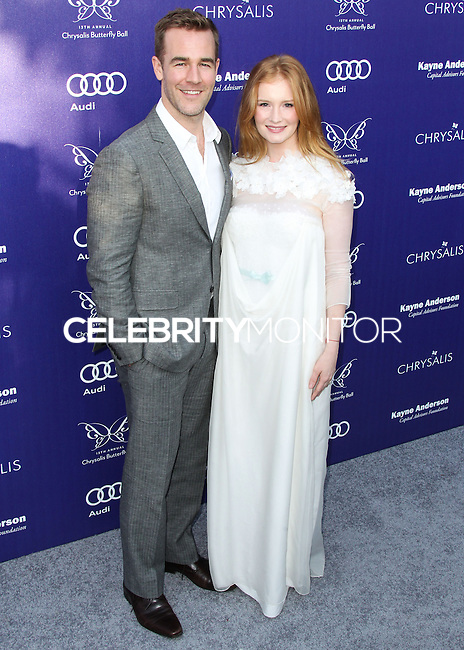 BRENTWOOD, LOS ANGELES, CA, USA - JUNE 07: James Van Der Beek, Kimberly Brook at the 13th Annual Chrysalis Butterfly Ball held at Brentwood County Estates on June 7, 2014 in Brentwood, Los Angeles, California, United States. (Photo by Xavier Collin/Celebrity Monitor)