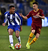 Eder Militao of Porto , Stephan El Shaarawy of AS Roma <br /> Roma 12-2-2019 Stadio Olimpico Football Champions League 2018/2019 round of 16 1st leg AS Roma - Porto  <br /> Foto Andrea Staccioli / Insidefoto