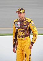 May 1, 2009; Richmond, VA, USA; NASCAR Sprint Cup Series driver David Ragan during qualifying for the Russ Friedman 400 at the Richmond International Raceway. Mandatory Credit: Mark J. Rebilas-