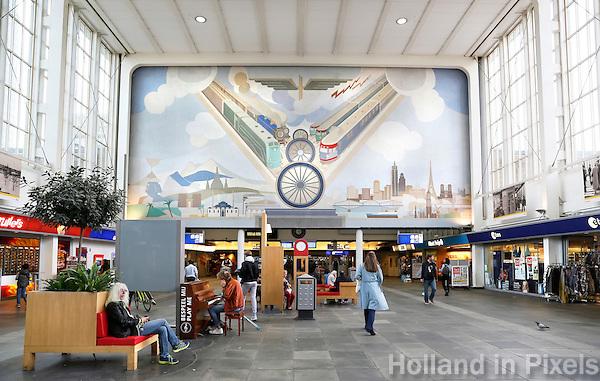 Nederland  Amsterdam  2016.  Interieur van Station Amsterdam Amstel.  Foto Berlinda van Dam / Hollandse Hoogte